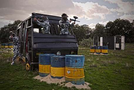 Foto Paintball Madrid 5