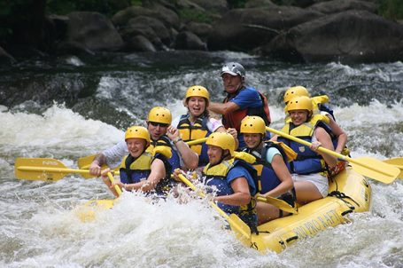Rafting multiaventura Madrid